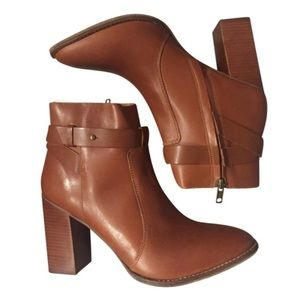 Madewell Brown Doris Ankle Boot Size 7